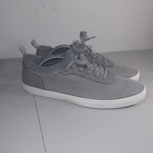 ALDO courtice sneakers gray and white size 11